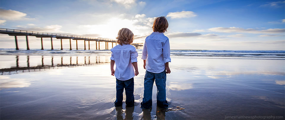 San Diego Kids Beach Portrait Photography