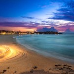 Landscape Photography - Sand Tractor at Bondi Beach - Sydney, New South Wales, Australia