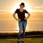 Del Mar Sunset Portrait Photography
