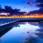 Landscape Photography - South Curl Curl Beach Sunrise - Sydney, New South Wales, Australia
