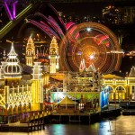 Landscape Photography - Luna Park at Night - Sydney, New South Wales, Australia