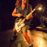 Woody Weatherman from Corrosion of Conformity thrashing out on stage