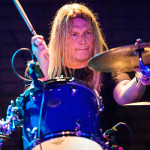 Reed Mullin from Corrosion of Conformity playing drums at Brick by Brick