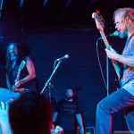 Mike Dean with Woody Weatherman from Corrosion of Conformity in the background