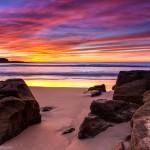 Landscape Photography - Freshwater Beach Sunrise - Sydney, New South Wales, Australia